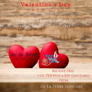 Valentine's Day Special Offer- FREE GIFT @ Short Street Cake | Asheville | North Carolina | United States