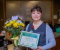 Sarah Pressley, recipient of the DAISY Award.