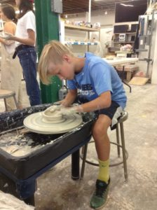 Summer Clay Camp 2018 --  Round & Round Clay Camp Ages 6-10 @ Odyssey ClayWorks   |  |  |