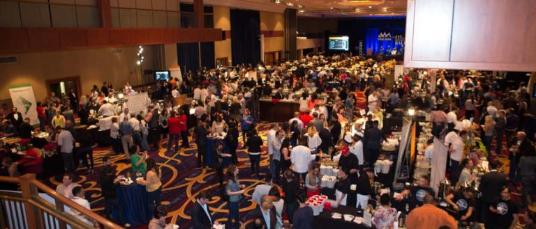 Attendees at the popular Blue Jean Ball fundraising event.