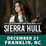 A Bluegrass Christmas with Sierra Hull @ Smoky Mountain Center for the Performing Arts |  |  |