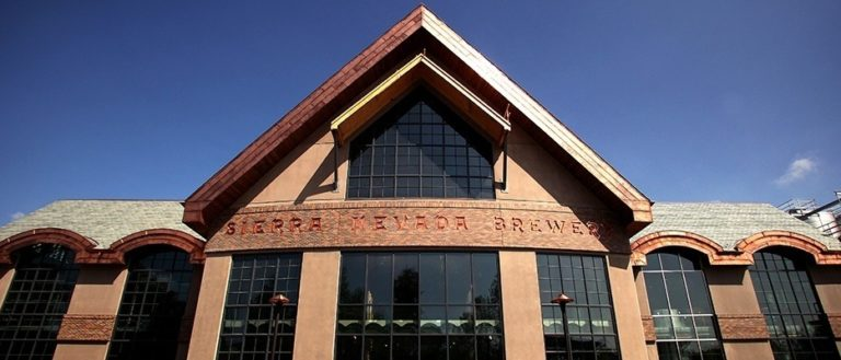 The exterior of Sierra Nevada's Western North Carolina brewery.