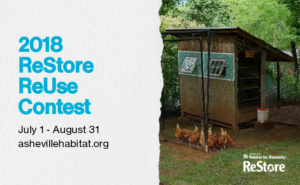 ReStore ReUse Contest @ Asheville Area Habitat for Humanity | Asheville | North Carolina | United States
