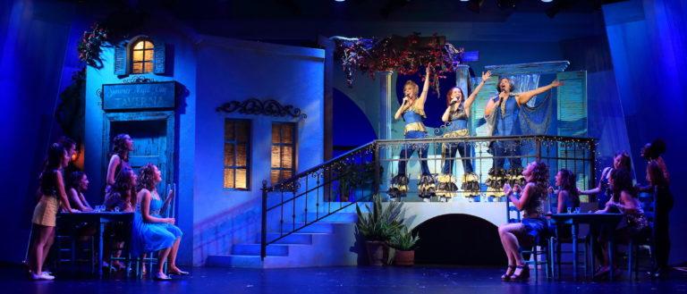 Mamma Mia at Flat Rock Playhouse.