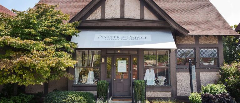 The exterior of Porter and Prince.